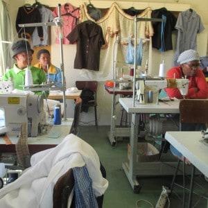 Ikgodiseng sewing project