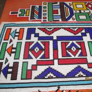 Rehlakile traditional beadwork