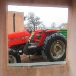 Thakgalang tractor for brick making, a Nozla Trust initiative