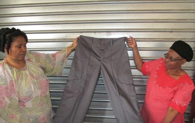 Motsheo Trust sewing project, Nozala Trust Free State project
