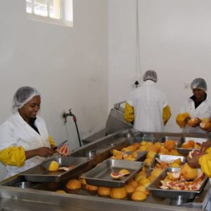 Intaba jam production project in the Western Cape, a Nozala Trust initiative
